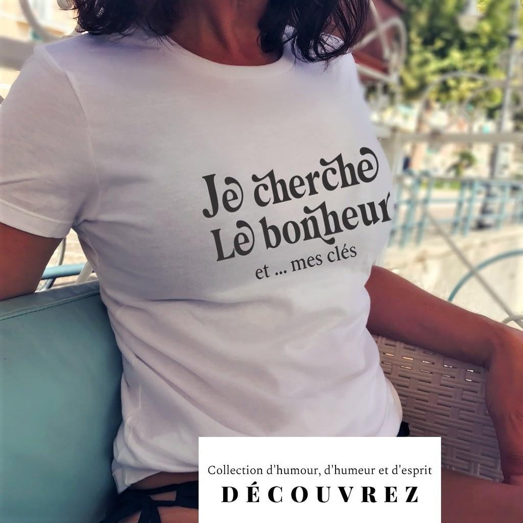 bonheur t-shirt