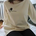 coton ouaté beige