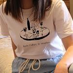 après l'effort t-shirt
