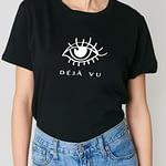 déjà vu t-shirt noir