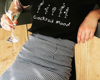 Cocktail Mood t-shirt Callitee