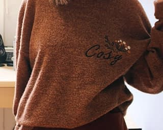 cosy pull oversize