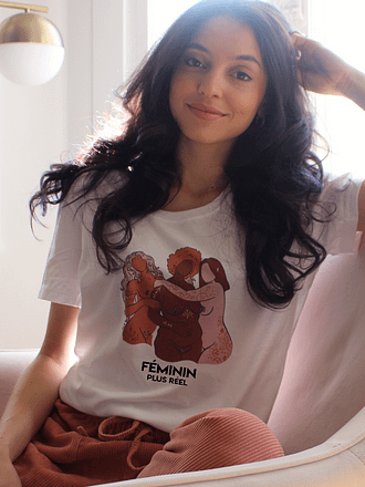 féminité t-shirt