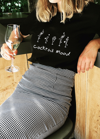 Cocktail Mood t-shirt Callitee